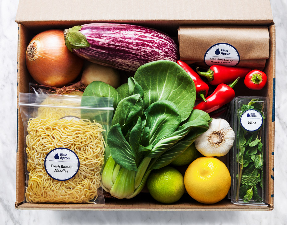 Blue-Apron-Meal-Box-Bokchoy-Ramen-Vegetables